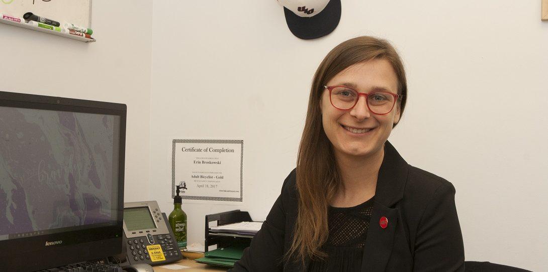 Erin Broskowski, Accommodation Coordinator